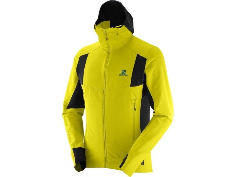 Pánska bunda SALOMON X ALP SMARTSKIN jkt žltá L379471 e39436eac64