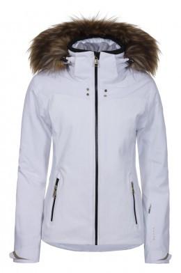 3f3b75bce191 LUHTA BERNILLA L7 WHITE Dámska luxusná lyžiarska bunda