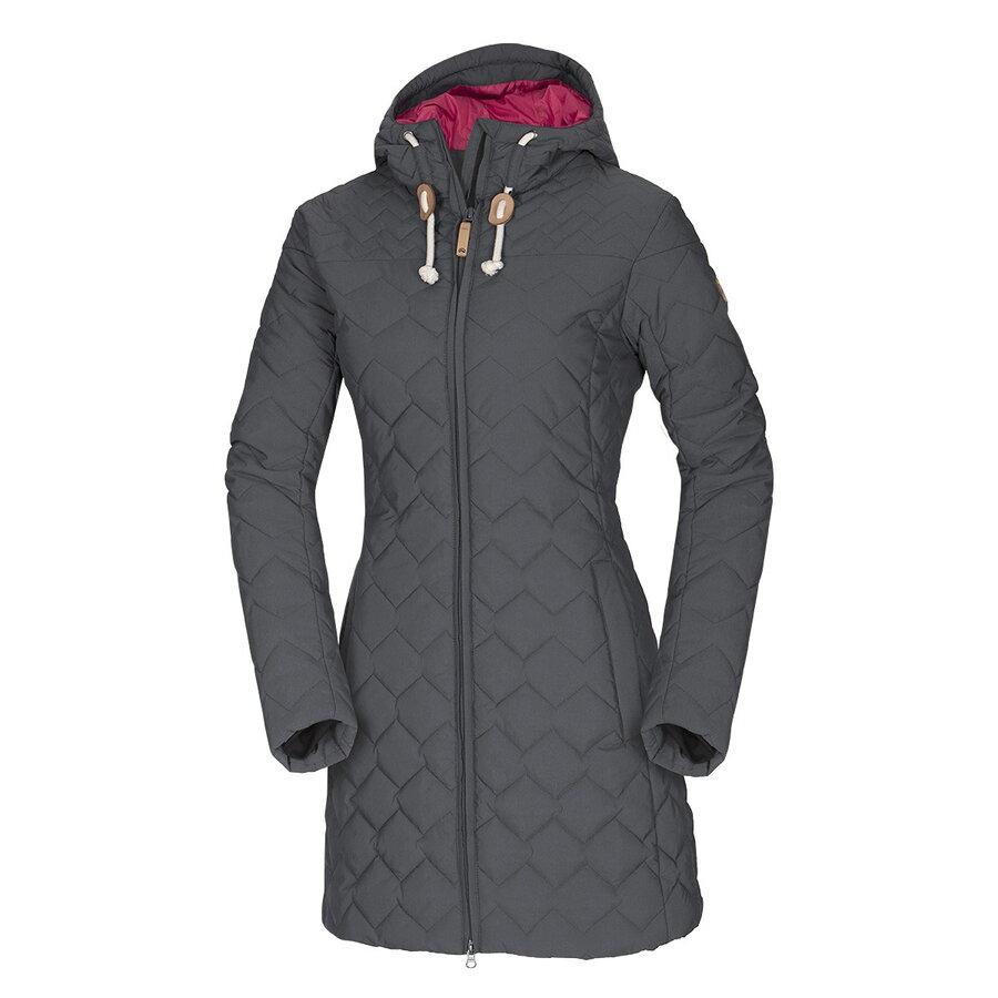 NORTHFINDER BU-4429SP GREY dámsky zimný kabát f988cdb3ba8