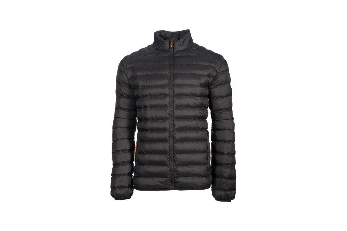 Pánska zimná bunda GTS 5004 M padded jacket čierna 40c9581c2b9