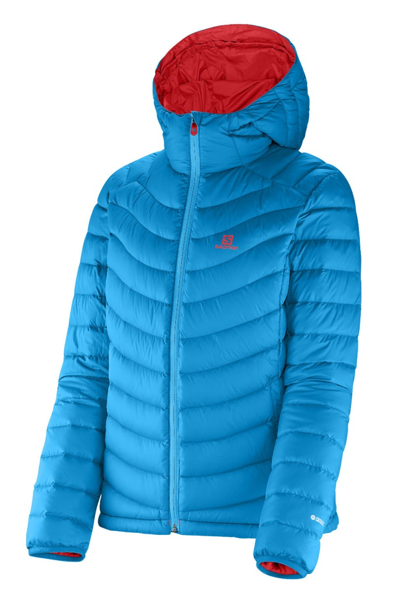 SALOMON HALO DOWN HOODIE dámska zimná páperová bunda dfe9c4b7cd6