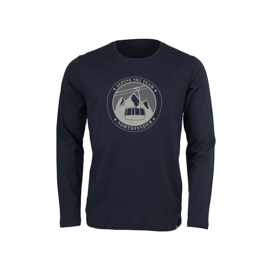 ec125ceaa57a Pánske tričko NORTHFINDER KOLTEN TR-3348SNW čierne