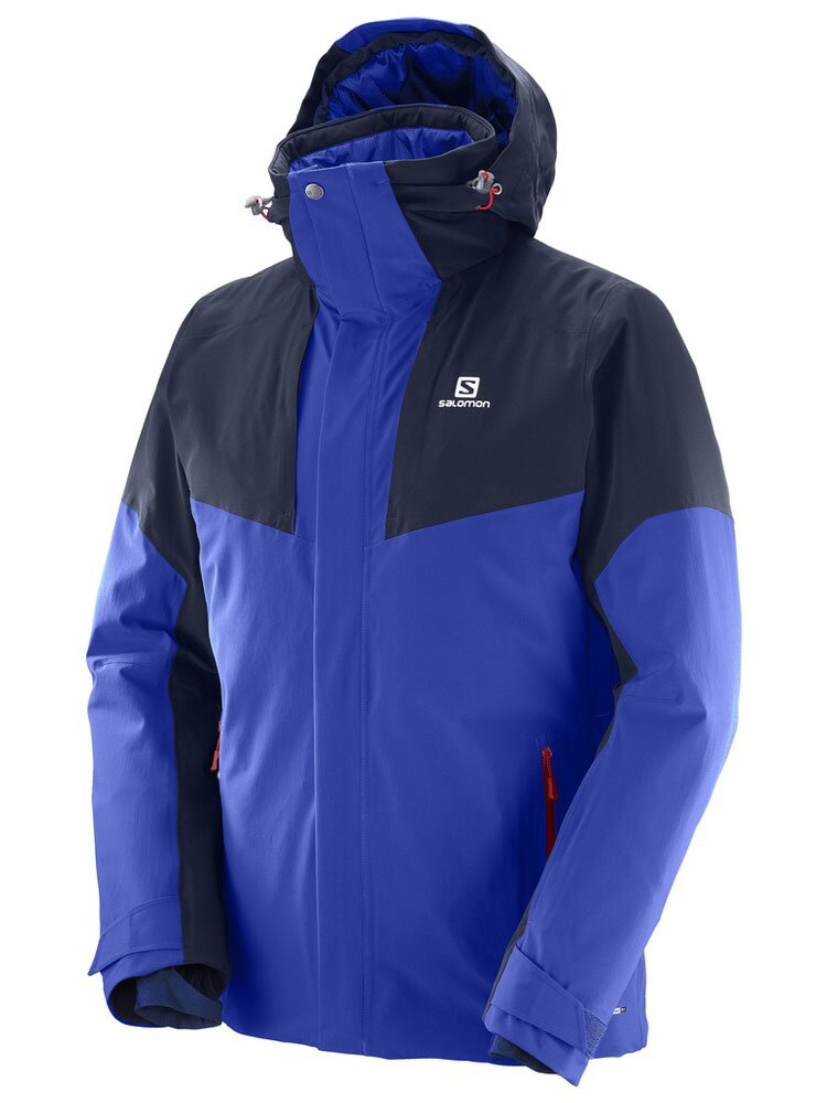 Pánska lyžiarská bunda SALOMON ICEROCKET JKT M L397332 dc0620f0b92