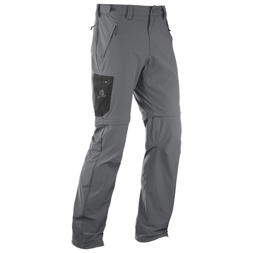 cb225e0c3961 Pánske ľahké turistické nohavice SALOMON WAYFARER ZIP PANT M 393117