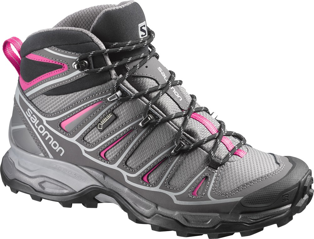 Dámska turistické topánky salomon X ULTRA MID 2 GTX W L371477 f50431755fd