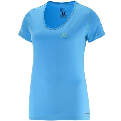 SALOMON BLUE LINE TEE SHIRT MANCHES COURTES