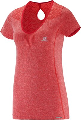SALOMON ELEVATE SS SEAMLESS TEE W L37934000