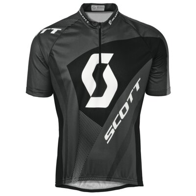 Cyklistické tričko Scott shirt authentic s/sl dark grey 233758-0091