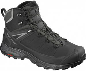SALOMON X ULTRA MID WINTER CS WP L404795 Black/phantom/quiet shade
