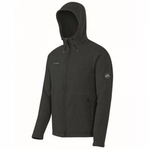 Pánska outdoorová bunda MAMMUT Polar Hooded ML Jacket graphite
