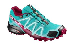 Dámske trail runningové SALOMON SPEEDCROSS 4 W GTX CERAMIC/ABLUE/S 394667