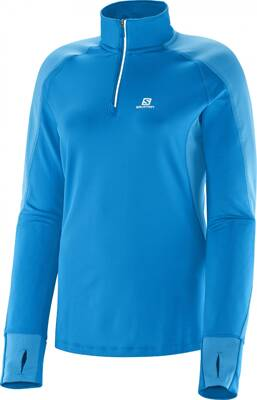 SALOMON TRAIL RUNNER WARM LS ZP TEE W L36321600