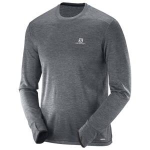 Pánske dlhé tričko SALOMON PARK LS čierne 382671 431858fa17c