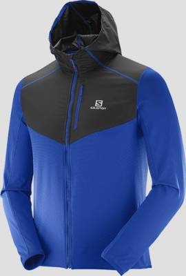 Pánska bunda SALOMON DISCOVERY WIND HOODIE M surf the web L392769