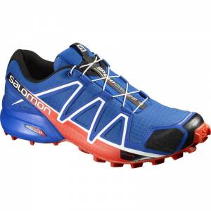 Pánske Salomon Speedcross 4 blue yonder/black/lava orange 383132