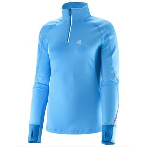 SALOMON TRAIL RUNNER WARM LS ZP TEE W L37100500
